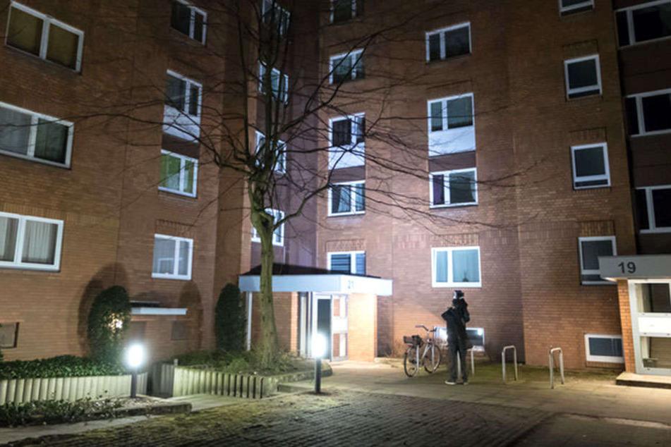 In dieser Hannoveraner Wohnung wurden zwei Leichen gefunden.