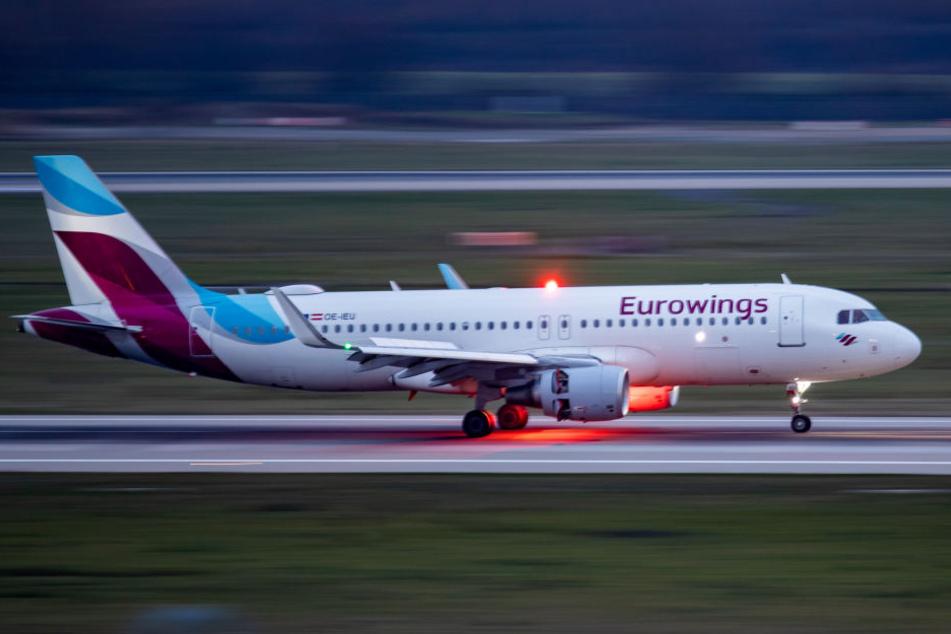 Eine Maschine der Eurowings.