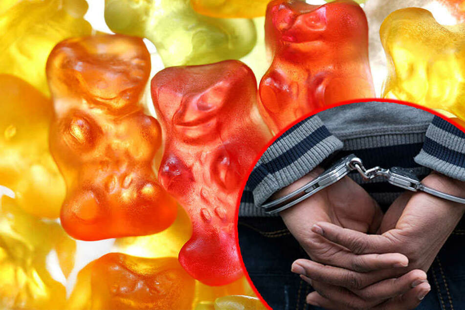 Weil der Gummibärchen-Dieb sich heftig wehrte, legten die Beamten ihm Handschellen an. (Symbolbild).