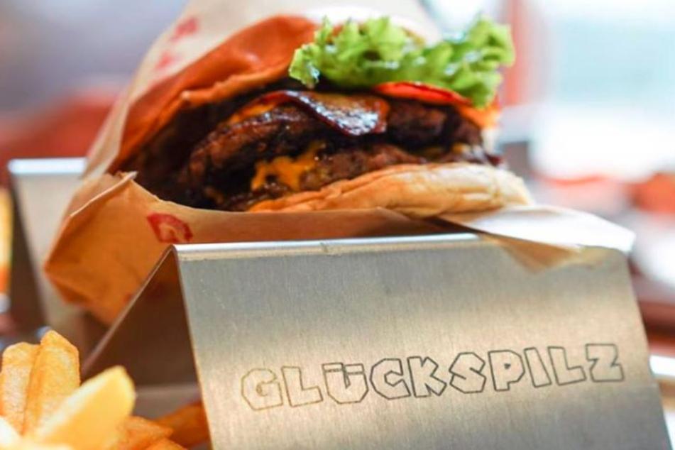 Die Glückspilz-Burger können ohne Besteck verzehrt werden.