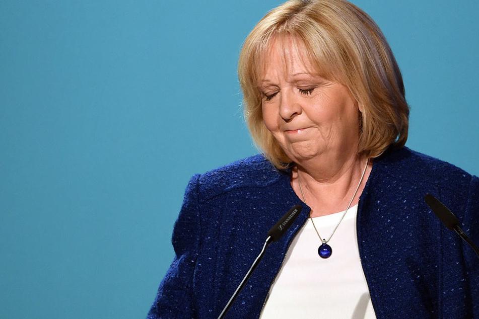Ihre Regierung konnte Hannelore Kraft (SPD) nicht fortführen - sie wurde abgewählt.