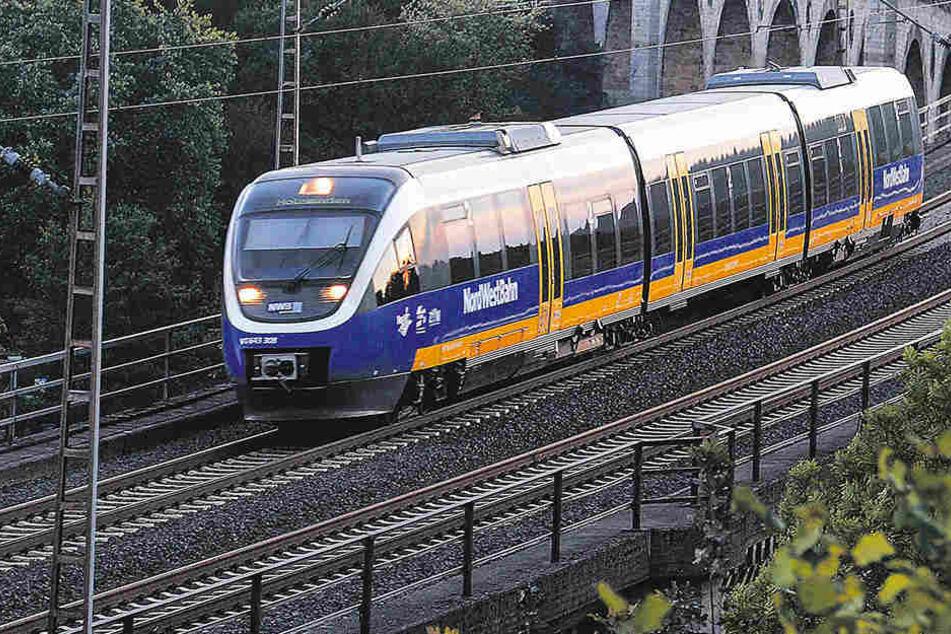 Ein Zugführer der Nordwestbahn hat 30 Kinder und Jugendliche im Kalten stehen lassen.