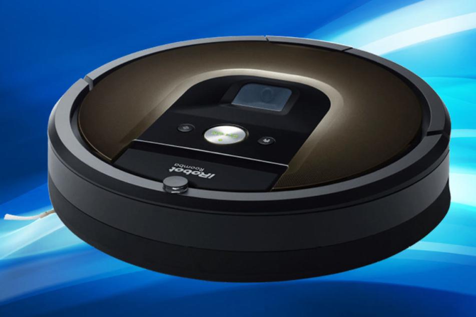 Der neue iRobot erfasst mit seinen vielen Sensoren die Umgebung und reinigt, ohne anzuecken.