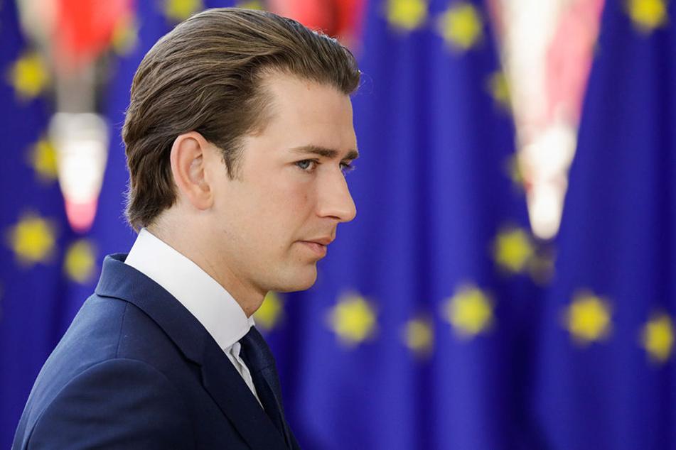 Sebastian Kurz (31) will nicht mit der Alternative für Deutschland kooperieren.