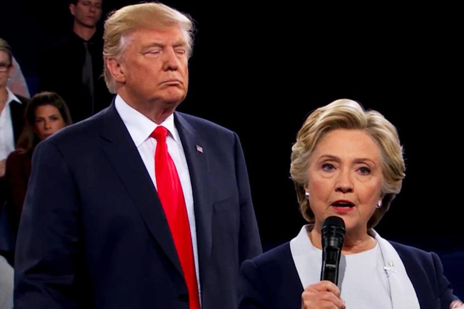 Mit dem Sieg von Donald Trump (l.) über Hillary Clinton hatte fast niemand gerechnet.
