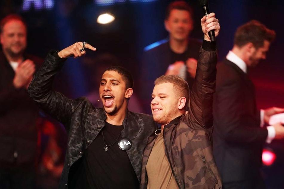 """Tay hat es geschafft! Am Sonntagabend setzte er sich gegen die anderen """"The Voice of Germany""""-Finalisten durch."""