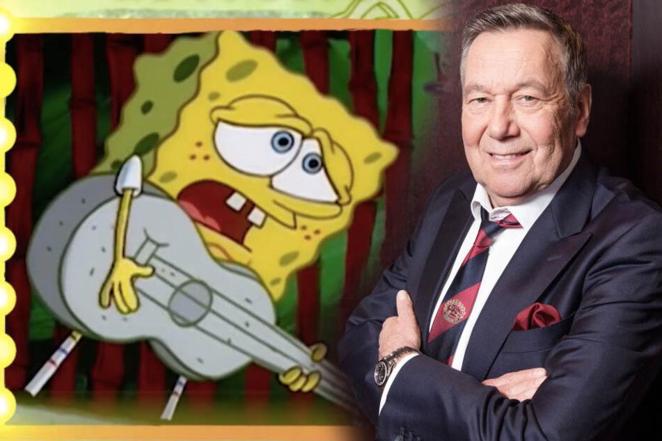 Neue CD: Roland Kaiser singt jetzt mit Spongebob Schwammkopf!