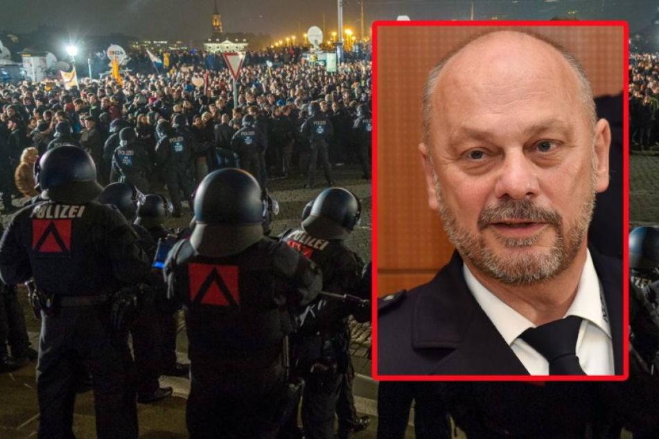 Appell des Polizei-Chefs vor Demo-Samstag: Bleibt friedlich!