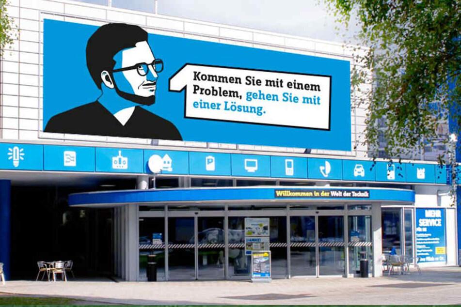 Die Conrad-Filiale im Hamburg-Wandsbek.