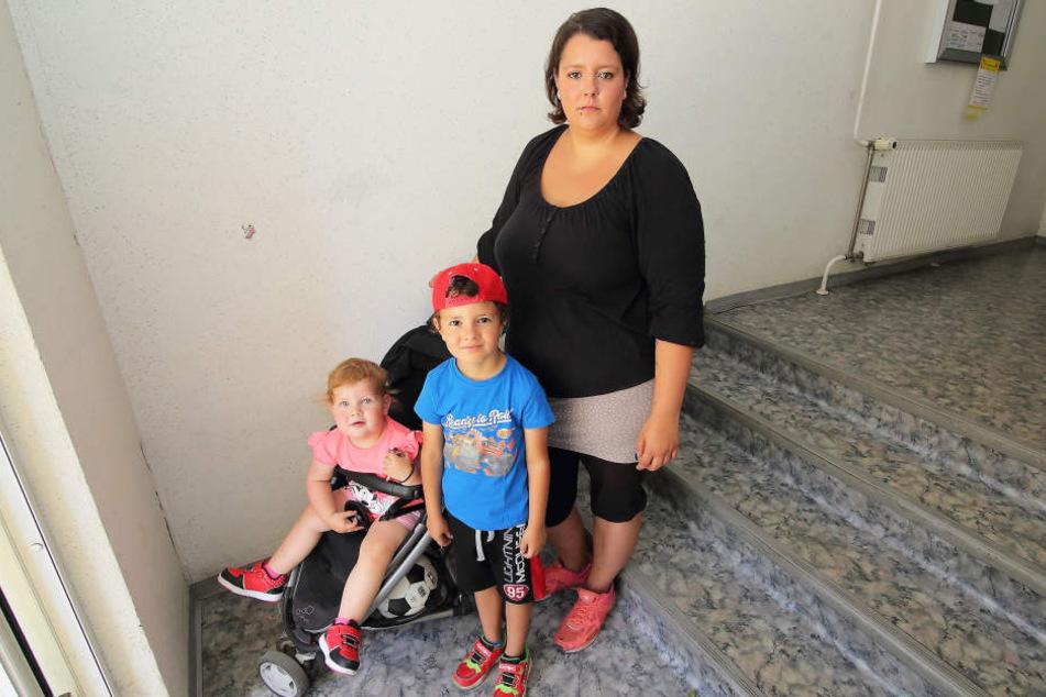 Mieterin Sarah Möller (26) und ihre Nachbarn wurden aufgefordert, Kinderwagen nicht mehr im Hausflur abzustellen.