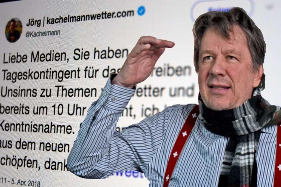 Jörg Kachelmann ließ auf Twitter seiner Wut freien Lauf.