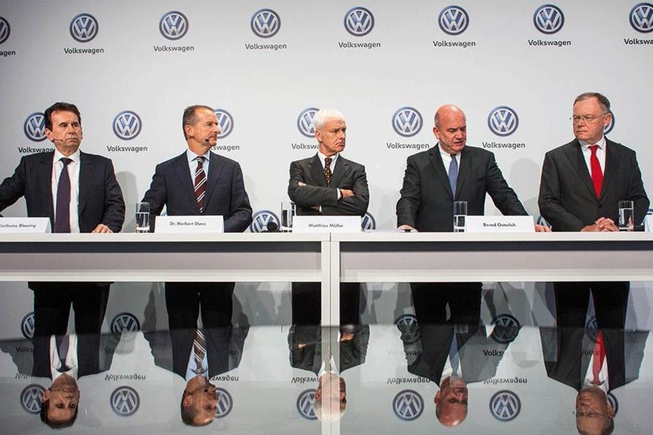 Die Volkswagen-Vorstände.