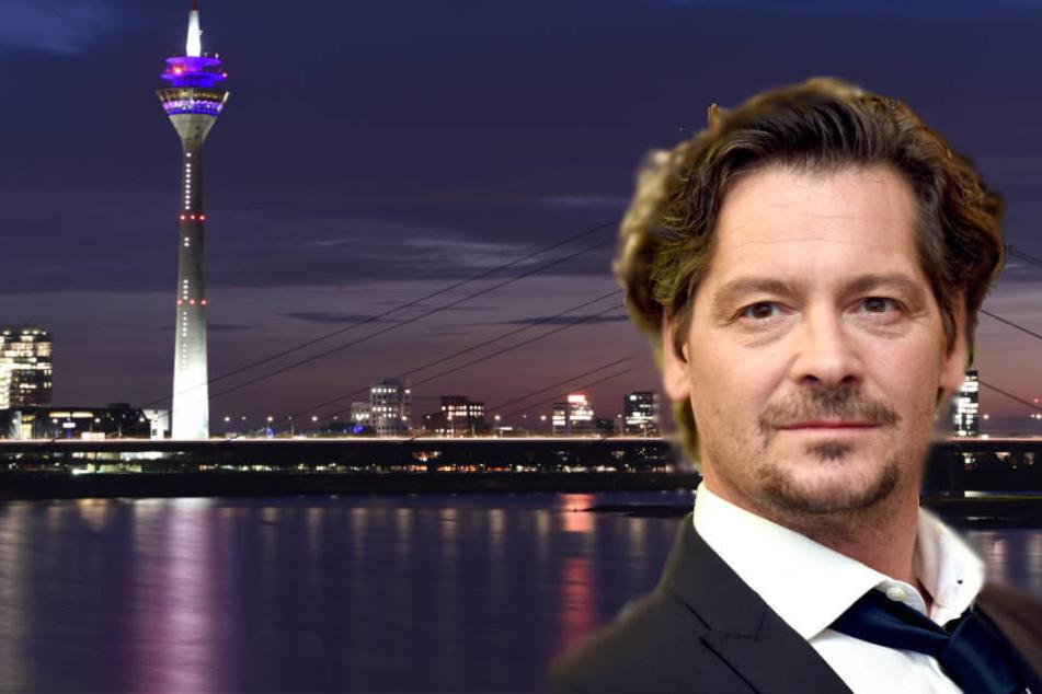 """Ab Mai ist Fritz Karl als extravaganter Düsseldorfer Anwalt """"Falk"""" in der gleichnamigen ARD-Serie zu sehen."""