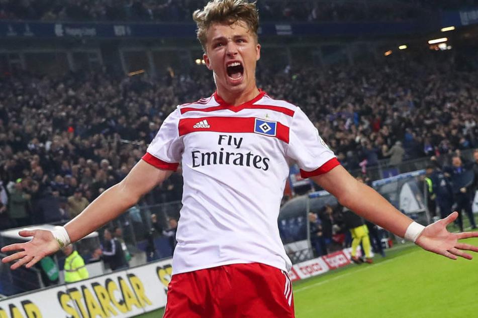 Jann-Fiete Arp wird den Hamburger SV spätestens im Sommer 2019 verlassen.