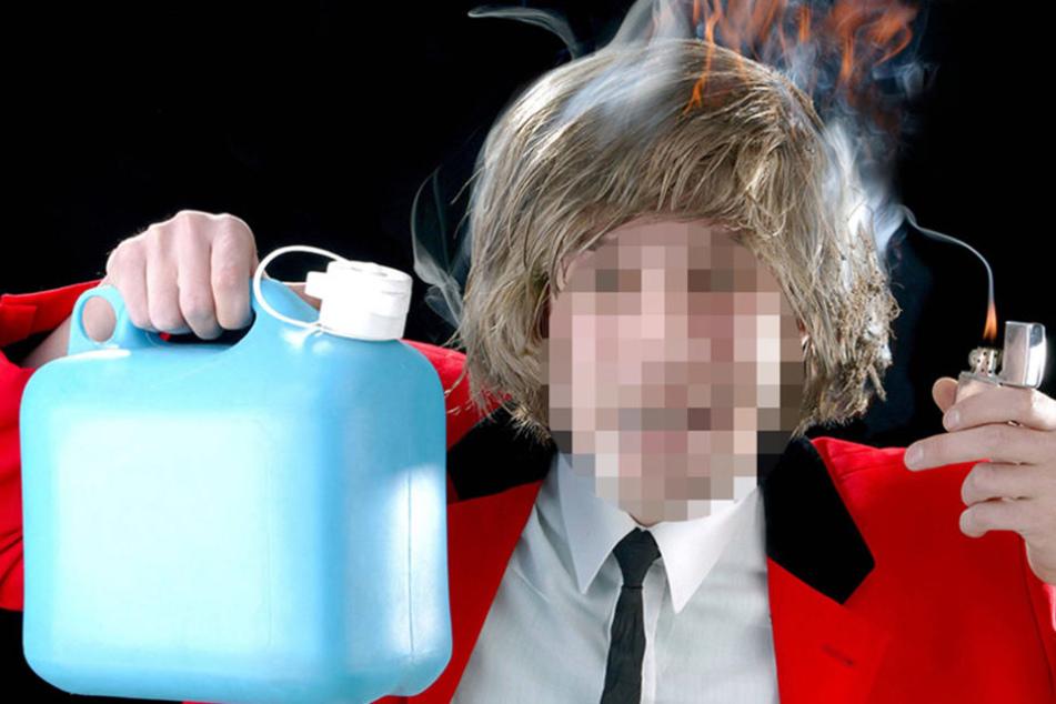 In Köln übergoss sich ein Mann in einer Polizeistation mit Benzin. (Symbolbild)