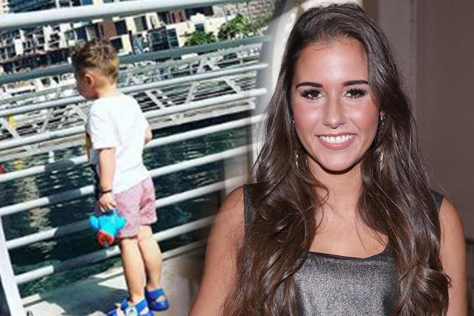 Sohn Alessio ist derzeit mit Sarah in Dubai.