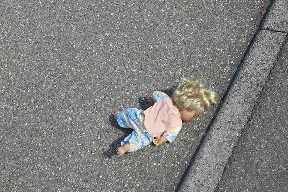 Das Mädchen wurde glücklicherweise nicht schwer verletzt. (Symbolbild)