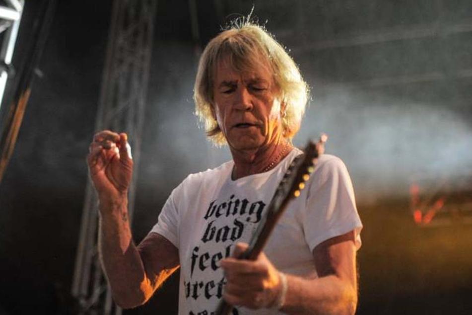 Rick Parfitt verstarb im Alter von 68 Jahren in Spanien.