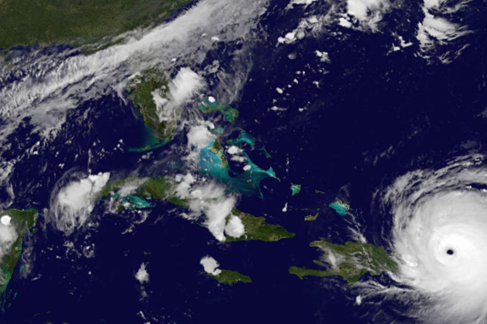 "Hurrikan ""Irma"" nimmt Kurs auf Miami."