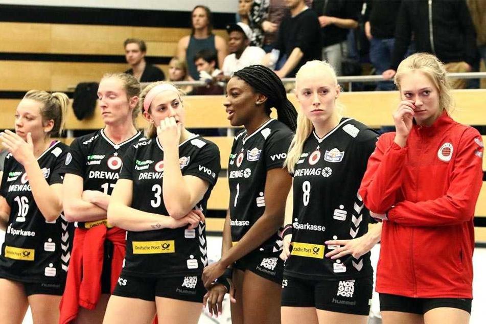 Enttäuschung pur beim DSC nach der  1:3-Niederlage in Vilsbiburg.