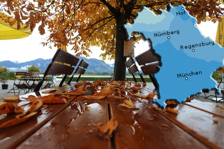 Bayern-Wetter: Der Herbst zeigt sich weiter von der ungemütlichen Seite