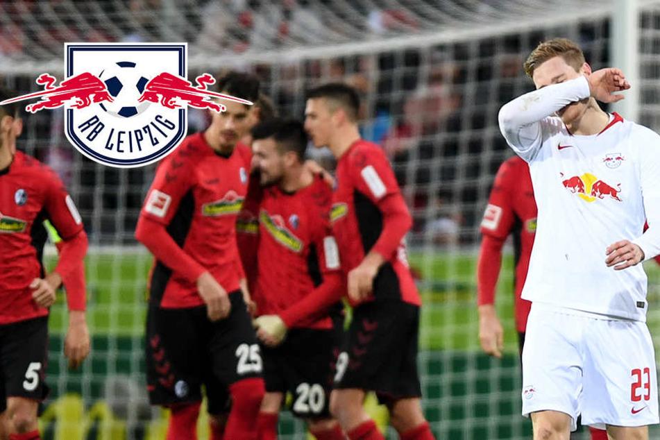 Klares 0:3! RB Leipzig kann seinen Auswärts-Fluch in Freiburg nicht stoppen