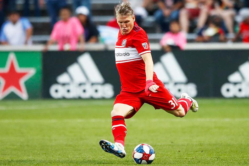 Bastian Schweinsteiger ist unumstrittener Stammspieler und Leistungsträger bei Chicago Fire.
