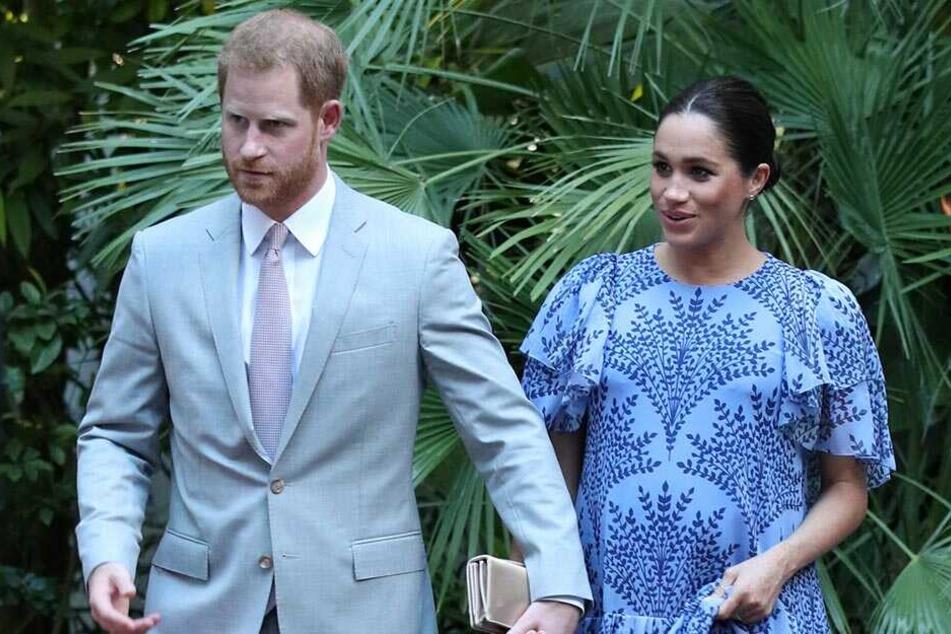 Prinz Harry und Herzogin Meghan zuletzt auf ihrer Reise in Marokko.