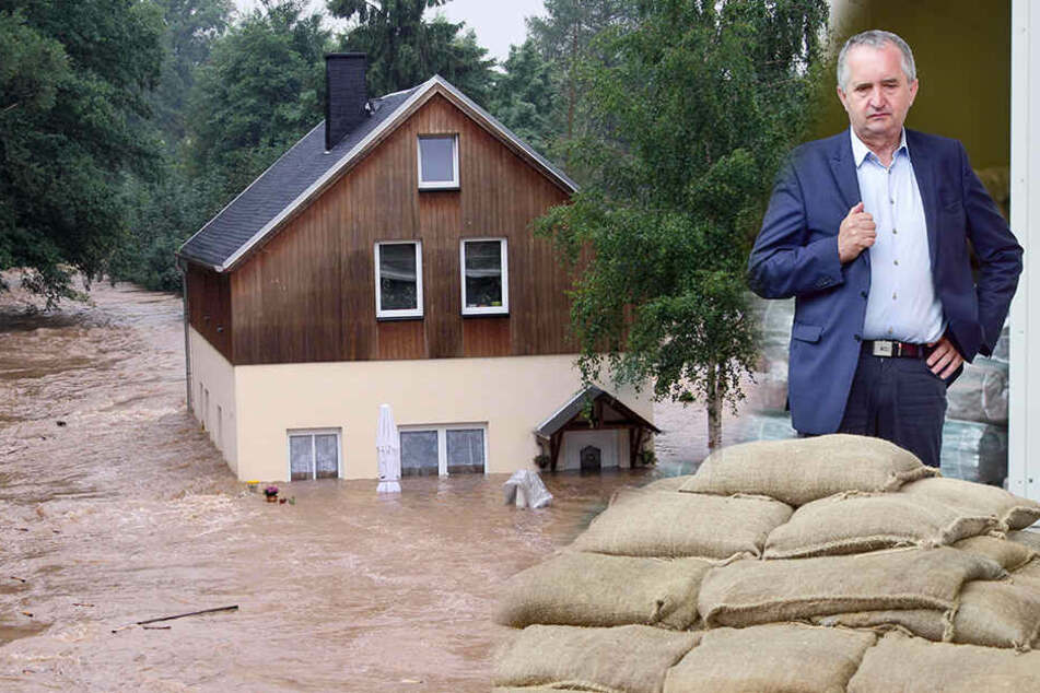 Angst vorm nächsten Hochwasser: Flutgeplagte Chemnitzer warten auf Minister