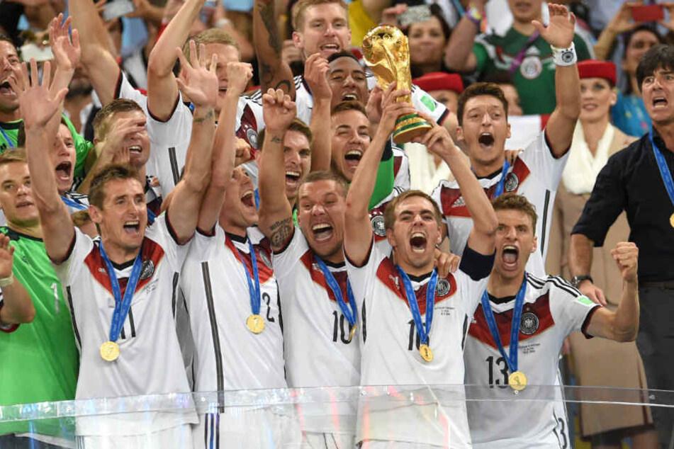 Bei der Weltmeisterschaft 2014 in Brasilien konnte der DFB den Titel feiern.