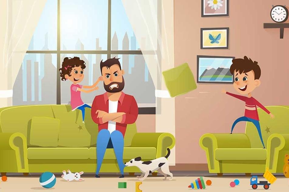 Kinder außer Kontrolle? Nicht-Eltern wissen immer Rat.