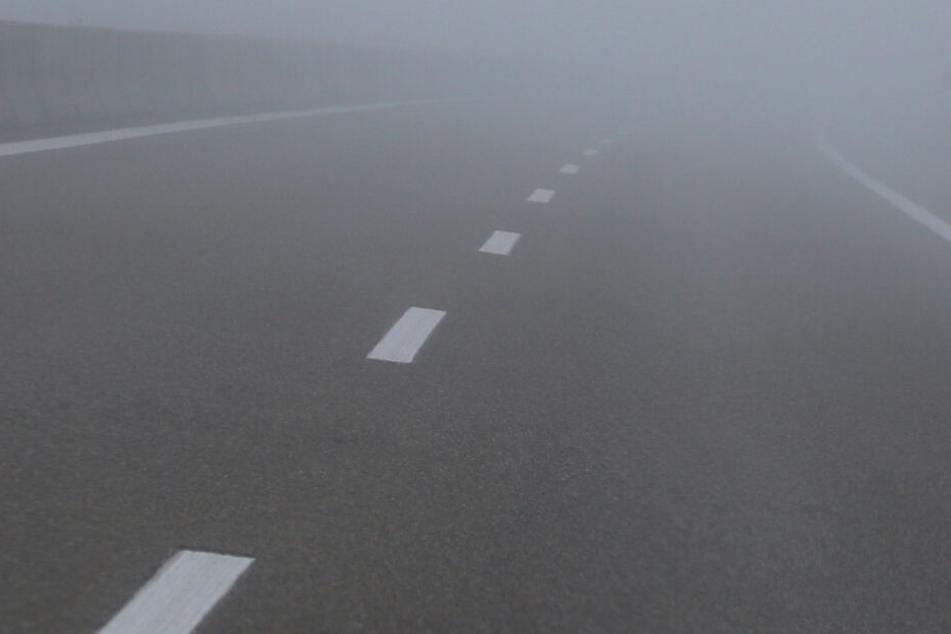 Der Lkw-Fahrer fuhr in der Nacht zum Mittwoch auf der Autobahn. (Symbolbild)