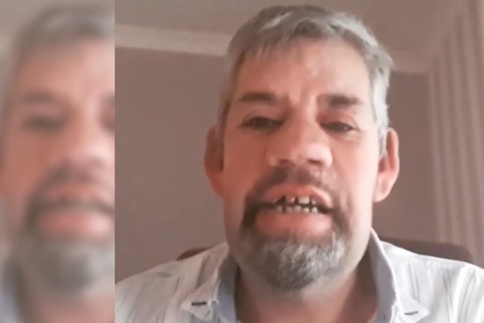 Uwe ist seine kaputten Zähne endgültig leid.