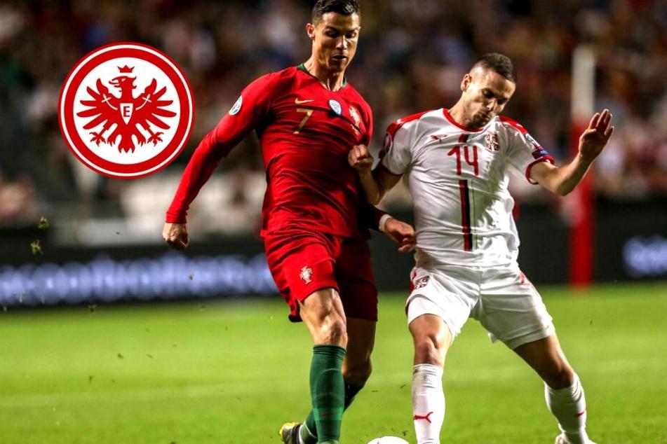 Sorgen um Mijat Gacinovic: Eintracht-Serbe wird verletzt vom Feld getragen!