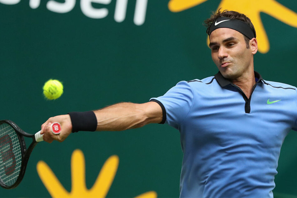 Federer im Eiltempo zu neuntem Titel in Halle