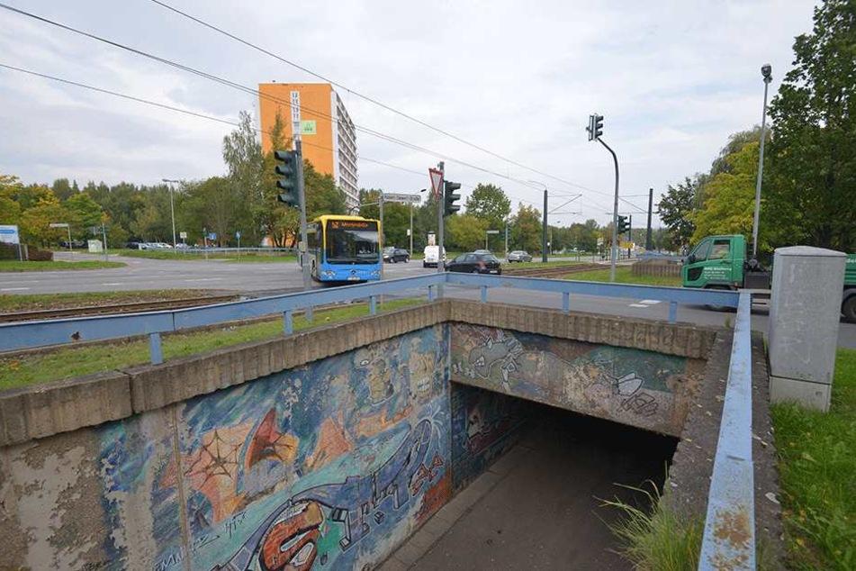 Tunnel ohne Zukunft: Die Stadt will die Unterführung an der Sagorski-Straße  wegreißen.