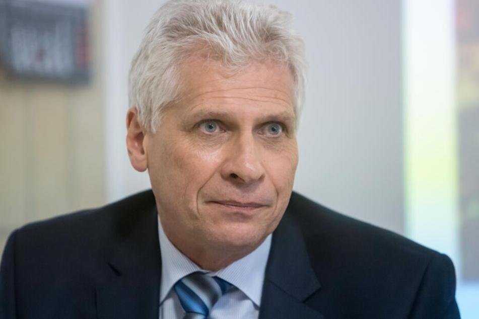 Olaf Richter (57), Geschäftsführer der Handwerkskammer, will das Berufsabitur wiederbeleben.
