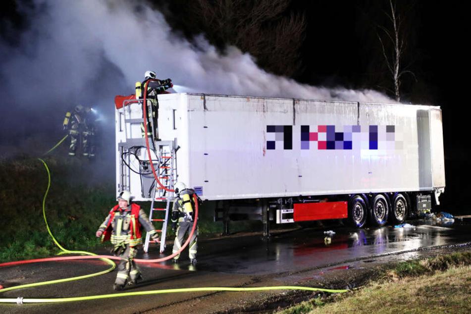 Die Feuerwehr löschte den technischen Defekt schnell.