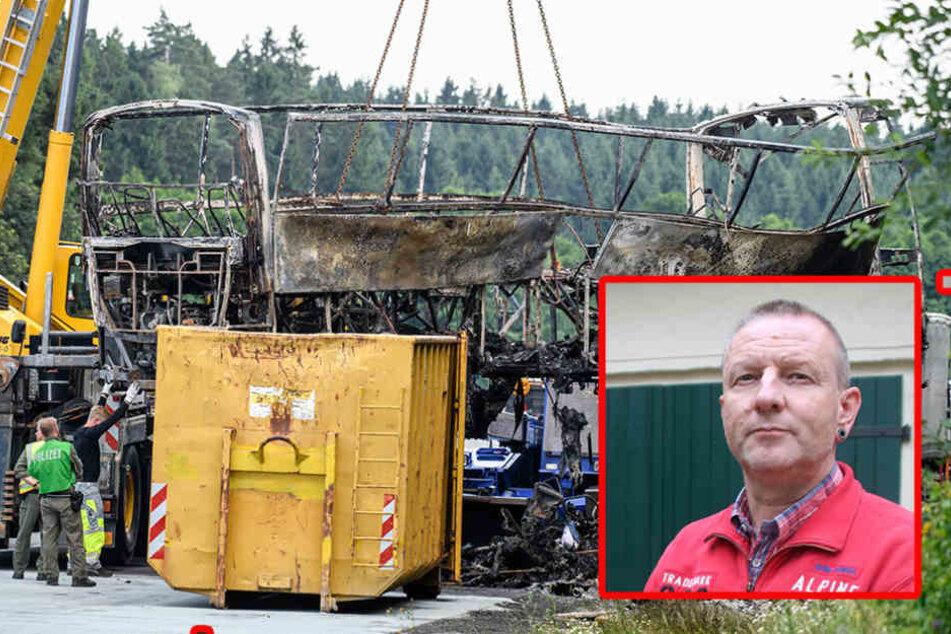 Bus-Inferno: Polizei ließ Wohnung von Unfall-Opfern knacken