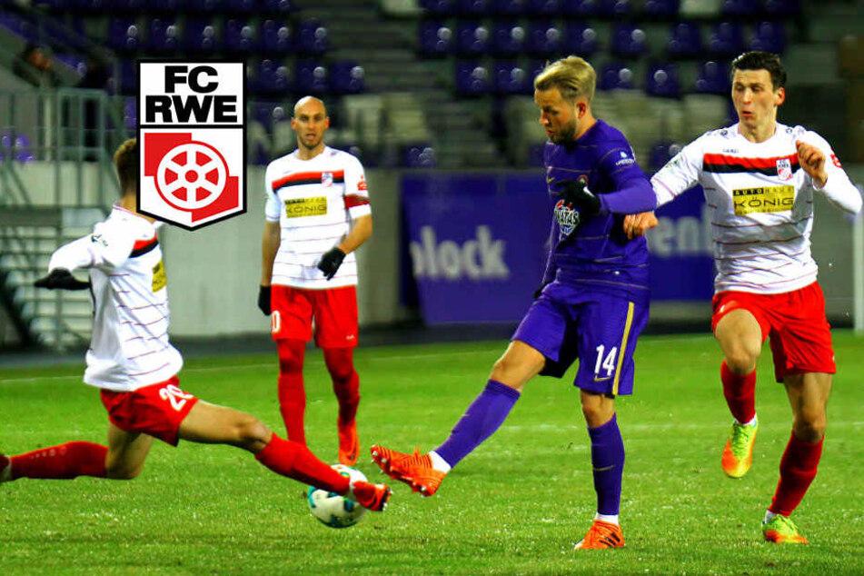 Es geht doch! Rot-Weiß Erfurt gewinnt Test gegen Zweitligisten Aue