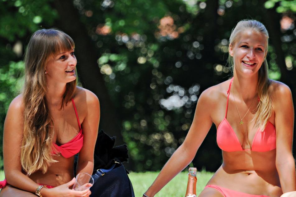 Bestes Bikini-Wetter in München - und in ganz Bayern. Doch zuerst wird es stürmisch. (Archiv)
