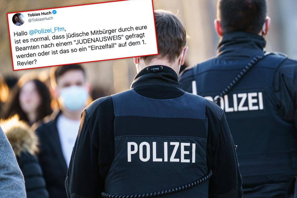 """Frankfurt: Neuer Polizei-Skandal? Beamter soll bei Kontrolle nach """"Judenausweis"""" verlangt haben"""