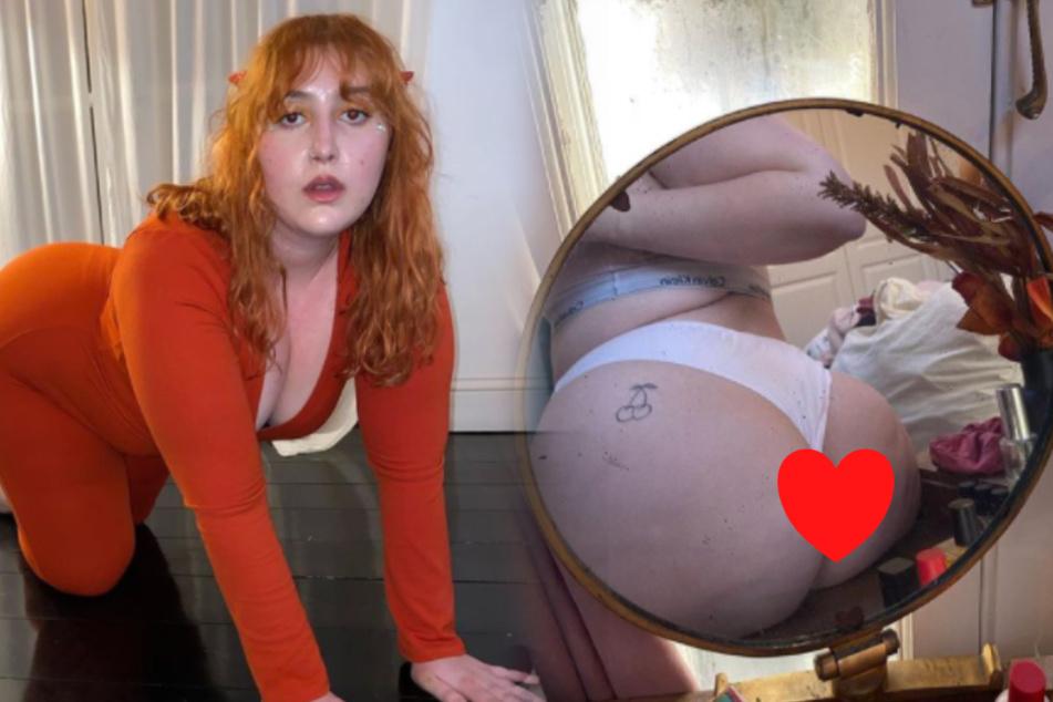 Honey Ross zeigt sich gern sexy.