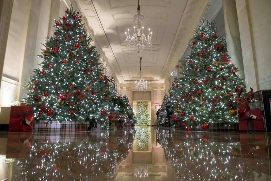 Deck the halls of power: White House unveils new Christmas decorations