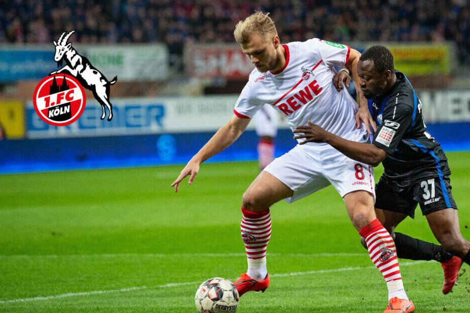 Tor-Festival in Paderborn: 1. FC Köln verliert Test-Spiel mit 3:5