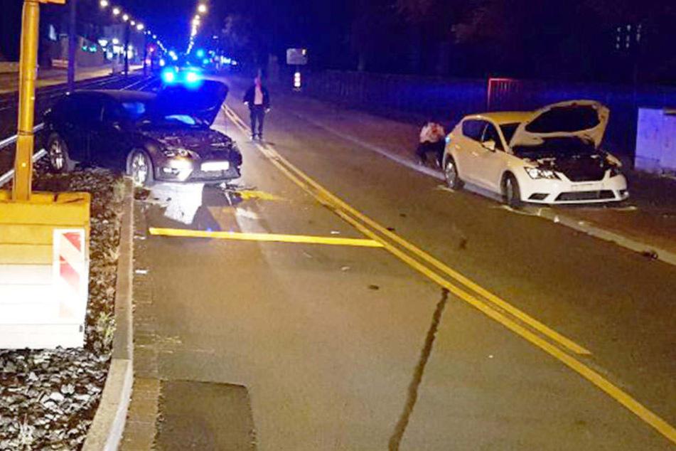 Riskante Fahrt endet mit Frontalcrash: Zwei Schwerverletzte