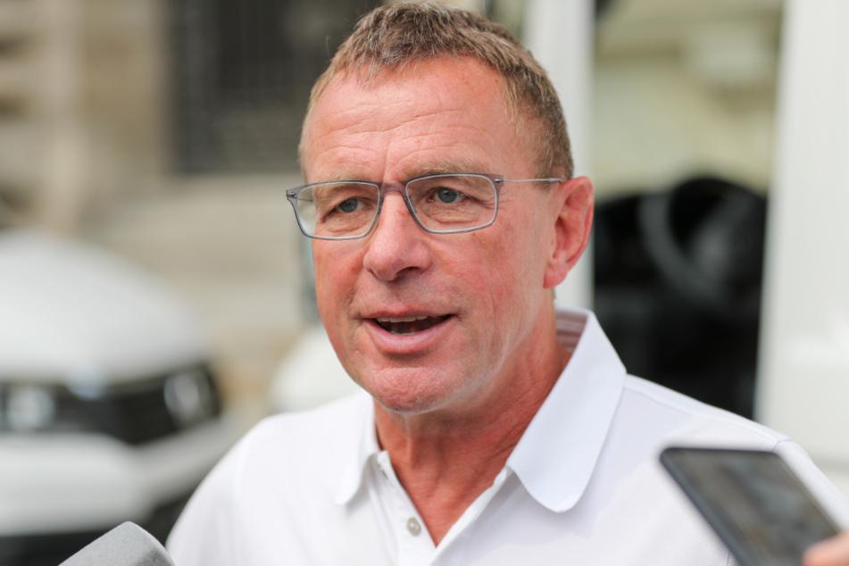 """Ralf Rangnick (62) wird als möglicher Löw-Nachfolger gehandelt, auch wenn er die Spekulationen als """"Unsitte"""" empfindet."""