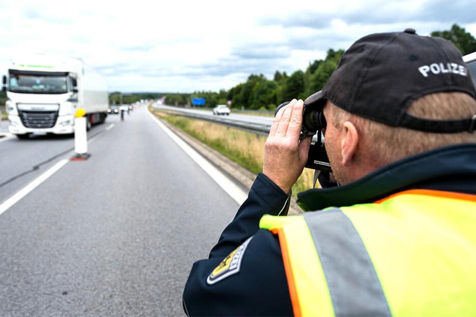 Knapp 600 Kilometer Grenze zu Polen und Tschechien kontrolliert die Bundespolizei.