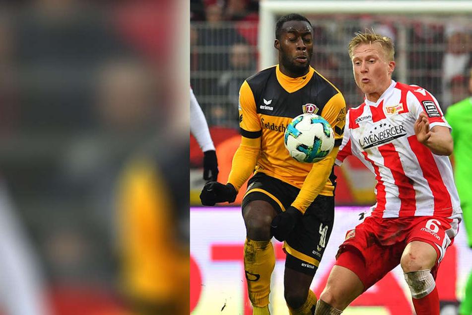 Erich Berko (l., gegen den Unioner Kristian Pedersen) bot auch ein Berlin eine gute Vorstellung.
