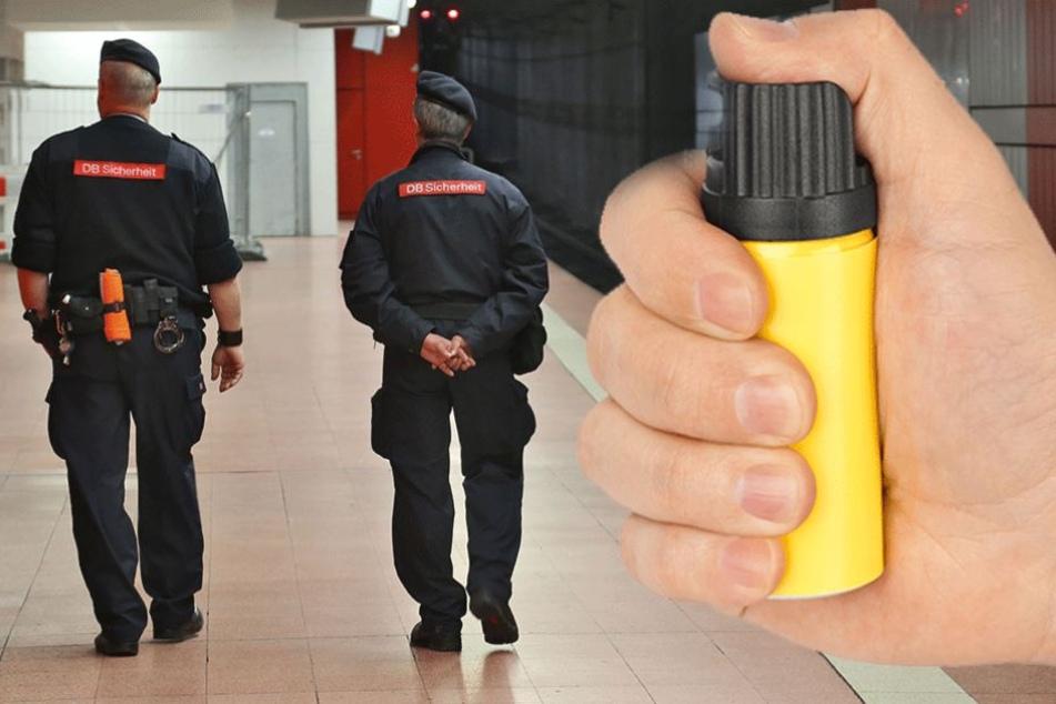 Mann attackiert Sicherheitskräfte am Bahnhof Ostkreuz